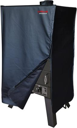 """47.5"""" BBQ Grill Cover For 44"""" Smoke Hollow PS4400, 44241G2 &"""