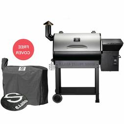 Z GRILLS Wood Pellet Grill BBQ Smoker Digital Control with P