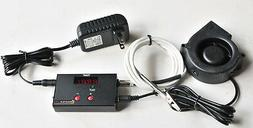 Automatic bbq temperature controller Charcoal Wood Smoker Gr