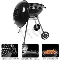 Barbecue BBQ Grill Charcoal Stove Patio Backyard Meat Cooker
