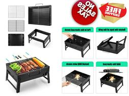 barbecue charcoal grill folding portable lightweight bbq