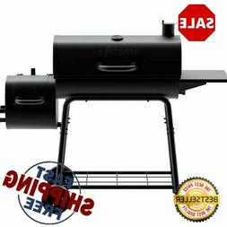 Nexgrill Barrel Charcoal Grill/Smoker 29 in. Steel Wire Cook
