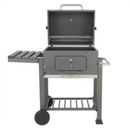 BBQ Charcoal Grill Intelligent 2 Layer Smoker Grill Courtyar