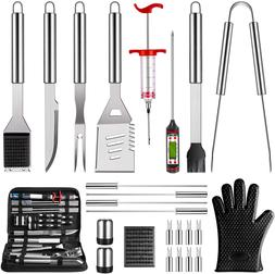 bbq grilling accessories grill tools set 25pcs