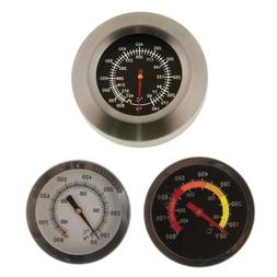 BBQ Pit Smoker Grill Stainless Steel Thermometer Gauge Temp