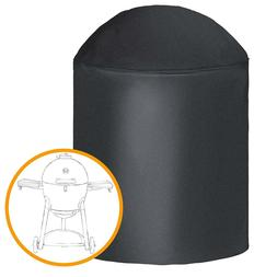 iCOVER Black Barbeque BBQ Grill Smoker Cover For Char-Grille