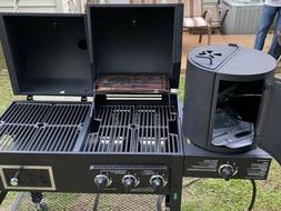 Brand New Smoke Hollow grill With Side Burner, Broiler, And
