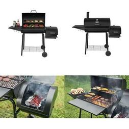charcoal grill with offset smoker 30 outdoor