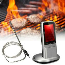 Digital Meat Thermometer For BBQ Grill Kitchen Oven Smoker C