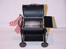 dollhouse miniature bbq barbeque smoker grill 1
