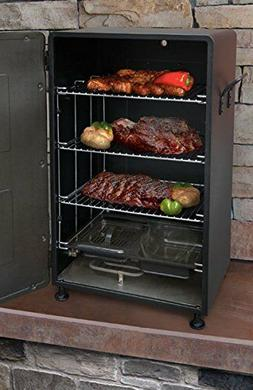 Electric Smoker Meat Fish Food Smokey Mountain Barbeque BBQ