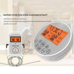 Electronic Digital Meat Cooking Thermometer Probe for Grill