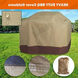 Universal Heavy Duty Barbecue Grill Cover Weber BBQ Texas Wa