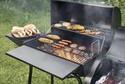 Royal Gourmet Charcoal Grill with Offset Smoker, 800 inches