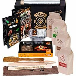 Grill Cooking Set For Smoking Wood Chips Variety/Smoker Box/