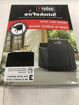 Weber Grill Cover 7190 44x33 SmokeFire Black For Smoke Fire