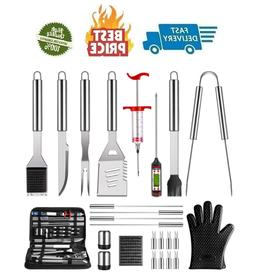 Grilling Accessories BBQ Grill Tools Set 25 PCS Stainless St