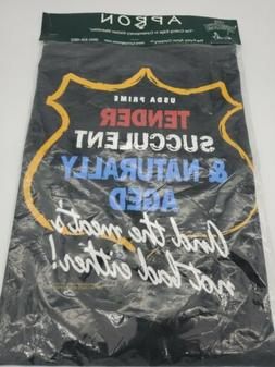 grilling smoker apron funny new sealed