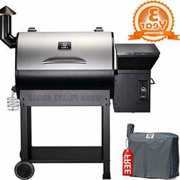 GRILLS ZPG-7002E 2019 New Model Wood Pellet Grill & Smoker,