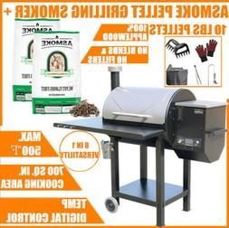 ASMOKE Home BBQ Wood Pellet Grilling Smoker + 10 LBS Natural