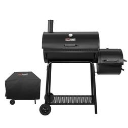 "Royal Gourmet 30"" BBQ Charcoal Grill Offset Smoker CC1830FC"