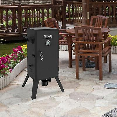 30 Analog Smoker Oven BBQ Grill Outdoor Patio 1650 W