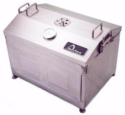 bbq grill smoker roaster stainless steel outdoor