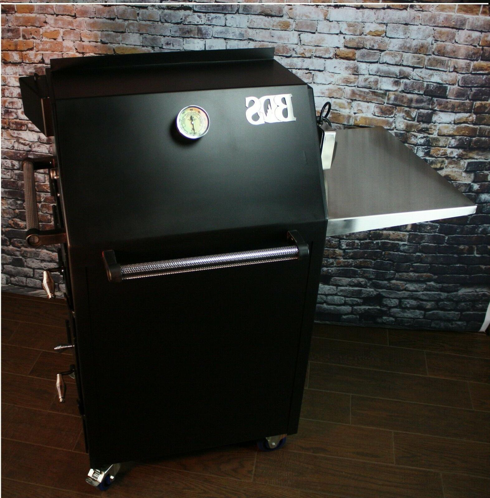 bbq smoker big daddy smoker rotisserie grill