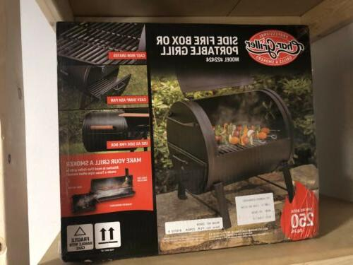 bnib char griller 2 2424 table top