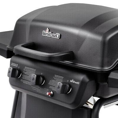 Char-Broil 463773717 station Natural gas Black barbecue