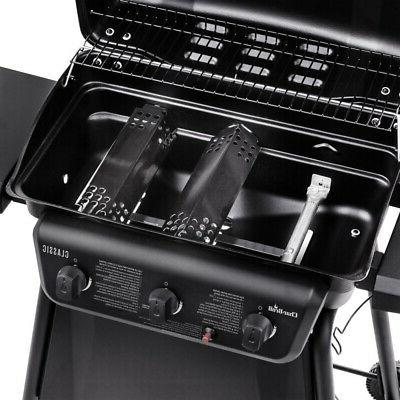 Char-Broil 463773717 station gas barbecue