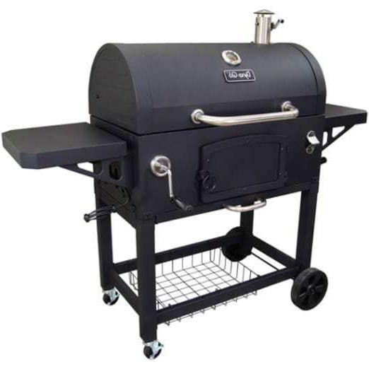 Charcoal Grill Charcoal and Cast Iron Cook Grate