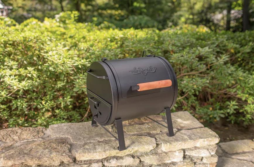 Charcoal Grill 250-sq in Black Stable New