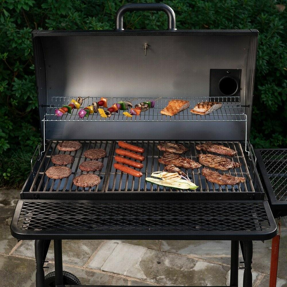 Charcoal Grill Pro Deluxe XL Outdoor Cooking Patio