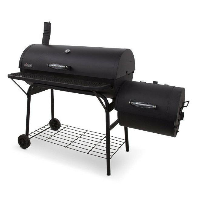 charcoal smoker cooking barbecue portable