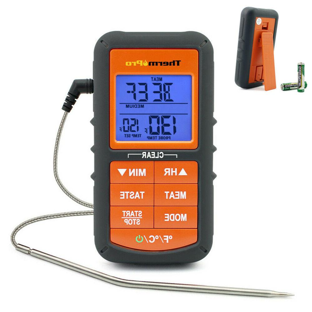 digital meat thermometer remote cooking controller