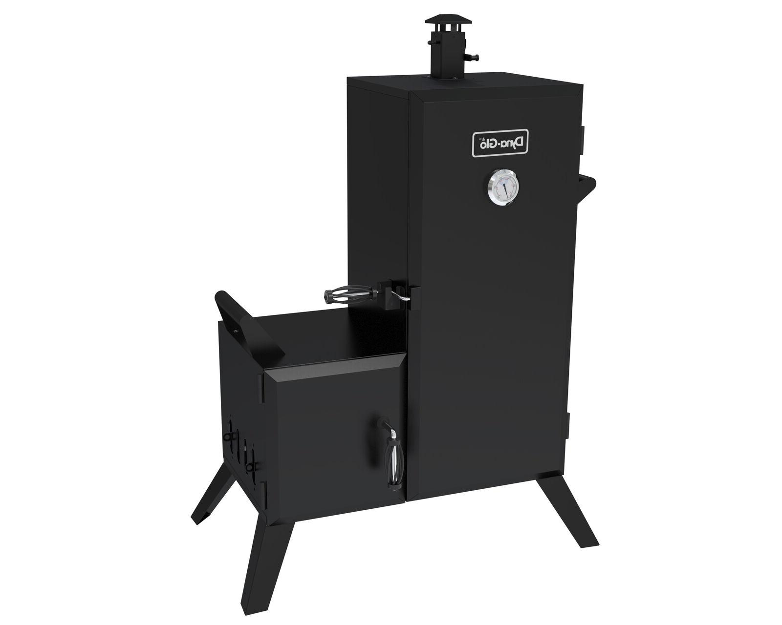dyna glo vertical off set charcoal smoker