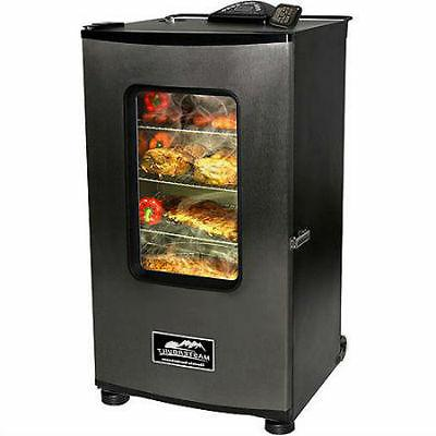 electric smoker with window ovens bbqs grills