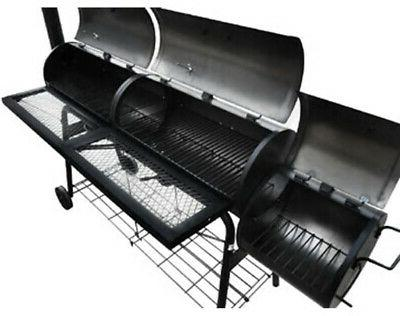 giant barbeque smoker patio bbq barrel grill