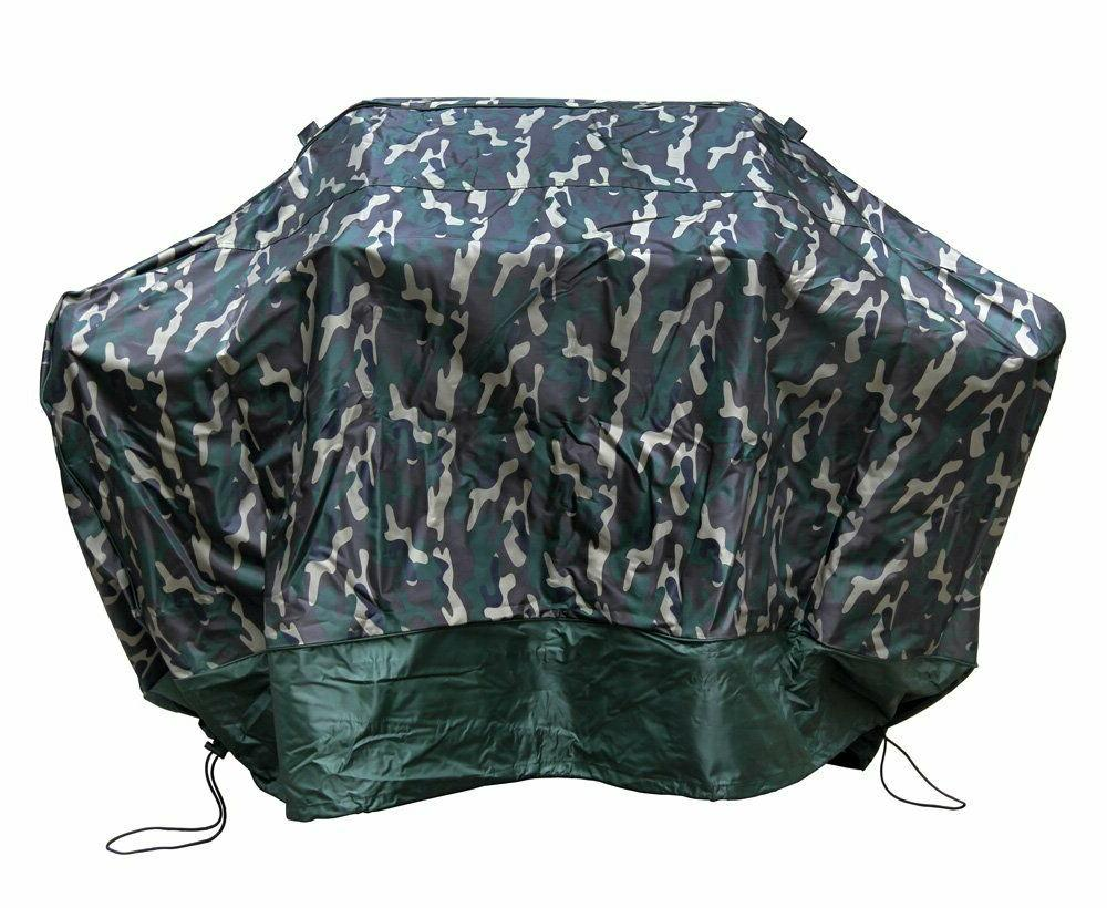 green camo grill cover 59 inch waterproof