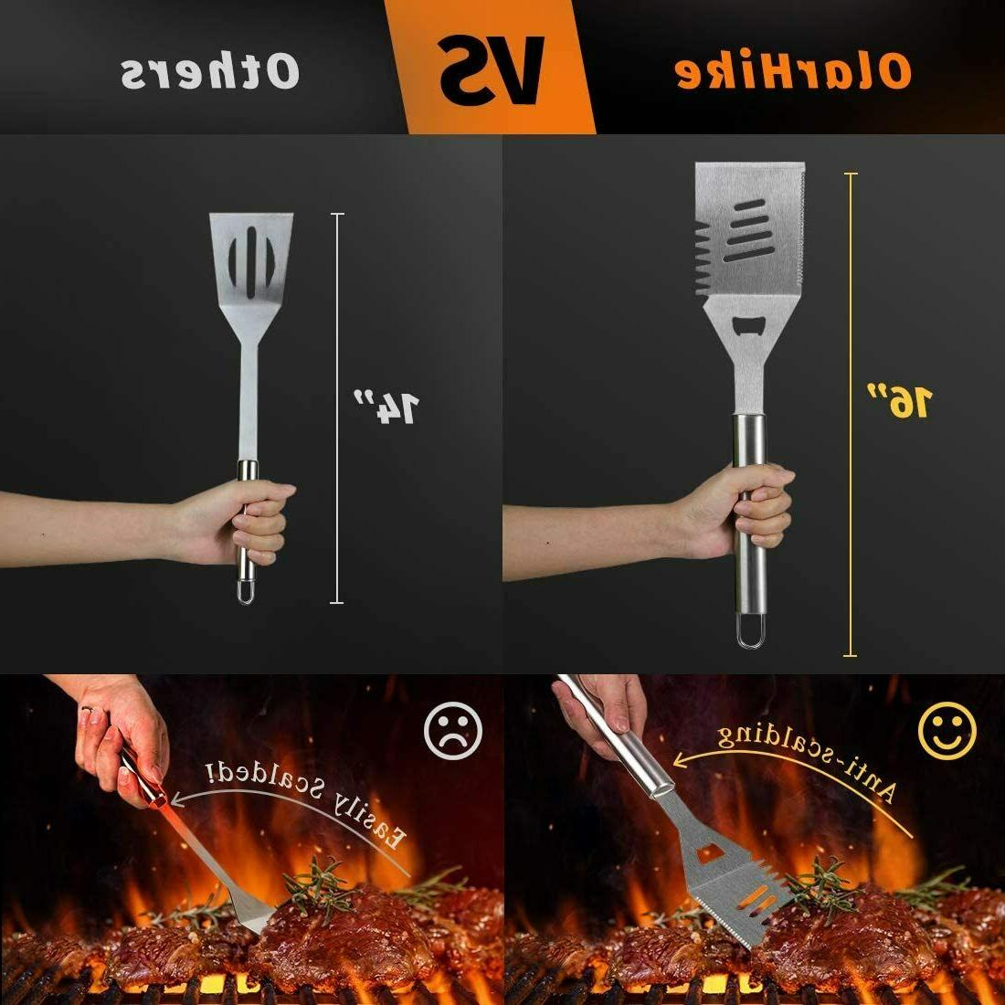 Grilling Accessories Tools Set Stainless Steel