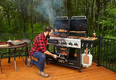 Pit Boss 4-in-1 Gas & Combo Grill with