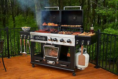 Pit Boss Memphis Ultimate 4-in-1 Gas Combo with