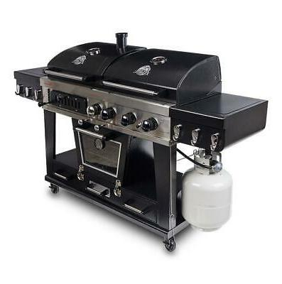 Pit Memphis 4-in-1 Gas Charcoal Combo with Smoker