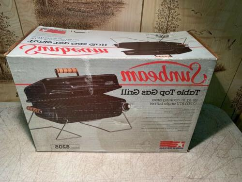 model 8205 table top gas grill new