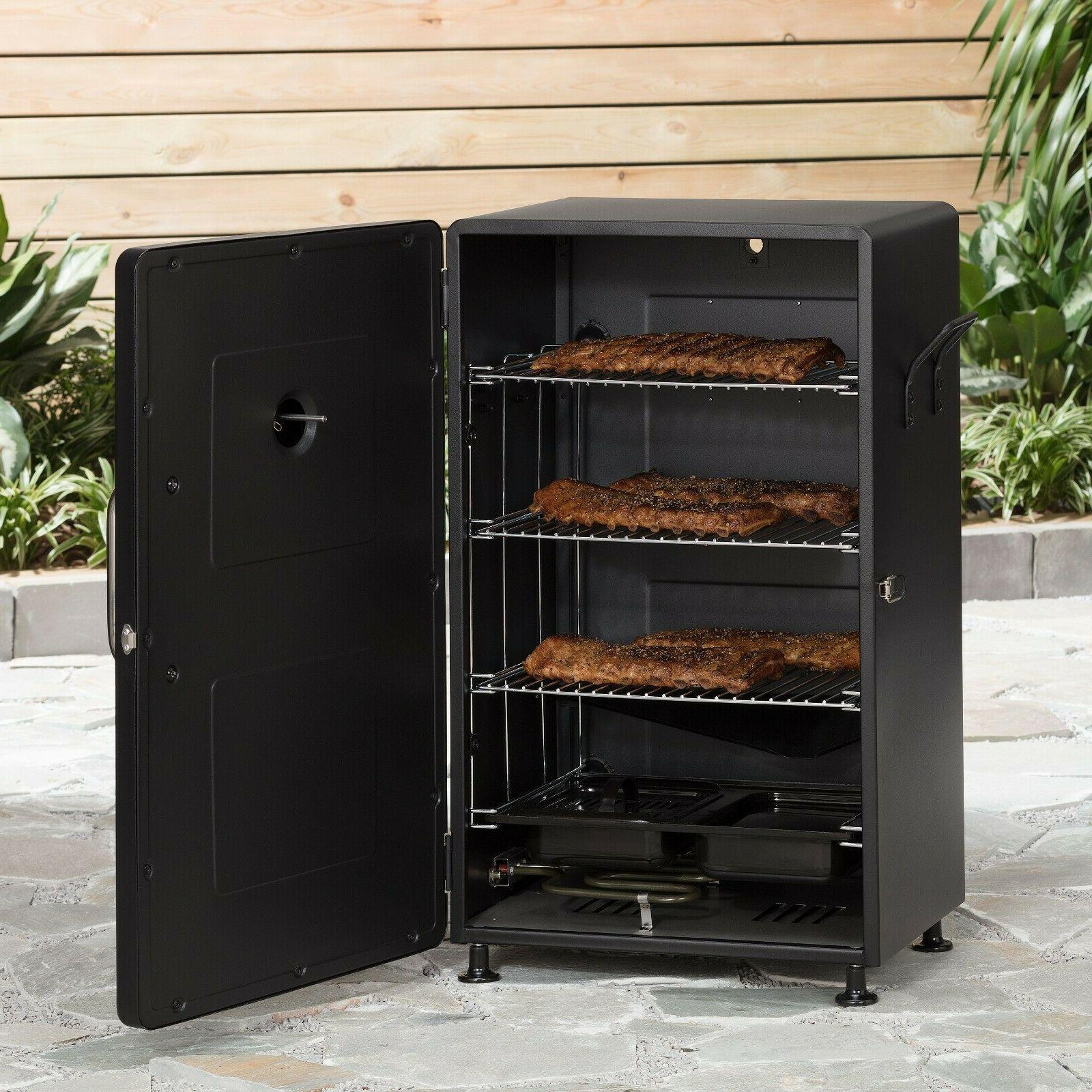 new electric bbq smoker barbecue grill outdoor