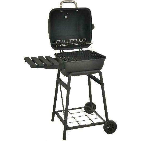 outdoor bbq grill charcoal pit patio backyard