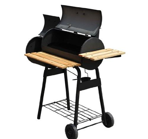 Outsunny Grill Smoker Combo