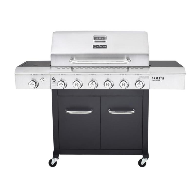 propane gas grill 6 burner bbq cooking