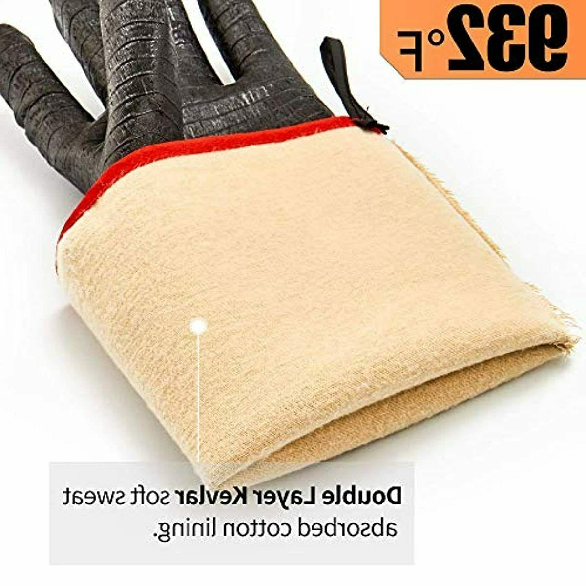 RAPICCA BBQ Gloves Resistant-Smoker, Grill, Gloves, for